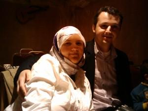 Esra & Murat - valentines dinner 2011