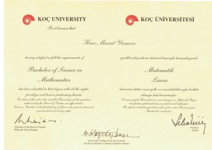 Bachelor of Science in Mathematics