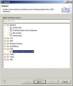 import-project-from-SVN-inside-eclipse
