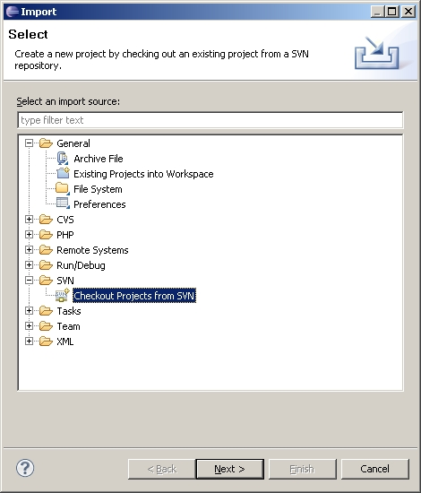 svn create project Web development with web site projects when you create a new web site project visual studio add solution to subversion main menu command to put.